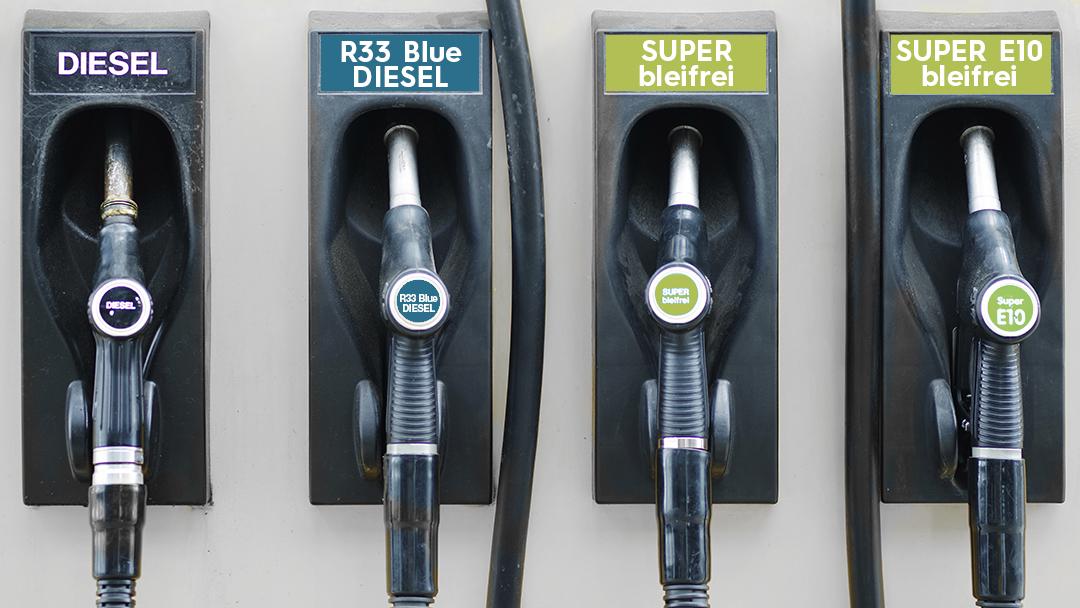 Zapfhähne mit R33 Blue Diesel