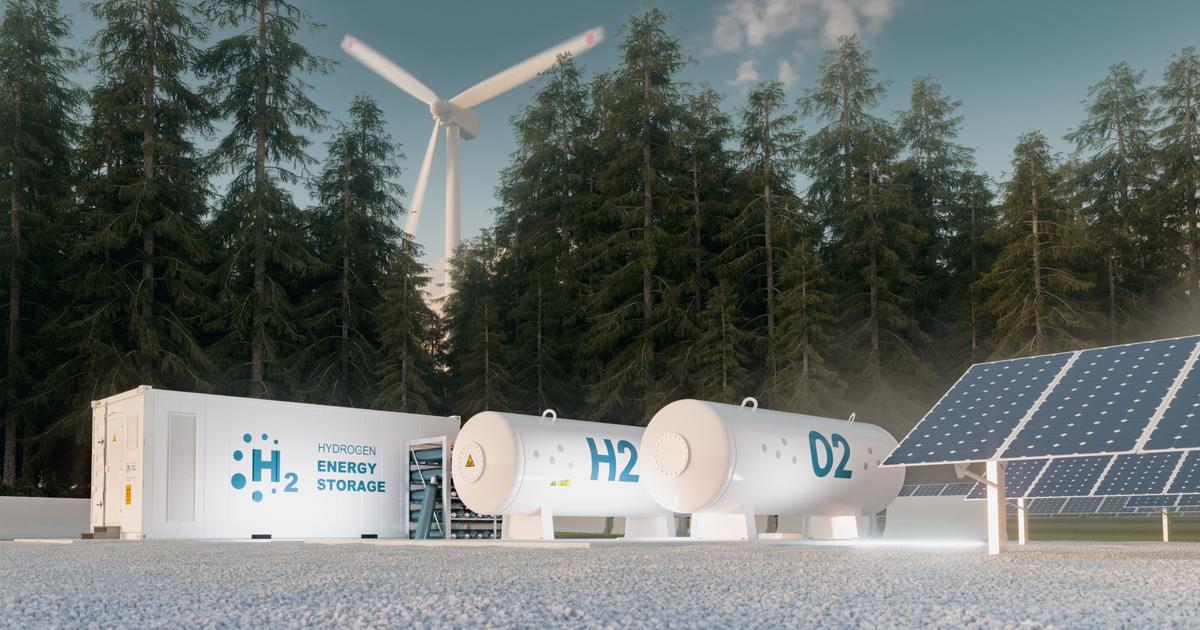Wasserstoff Turbine