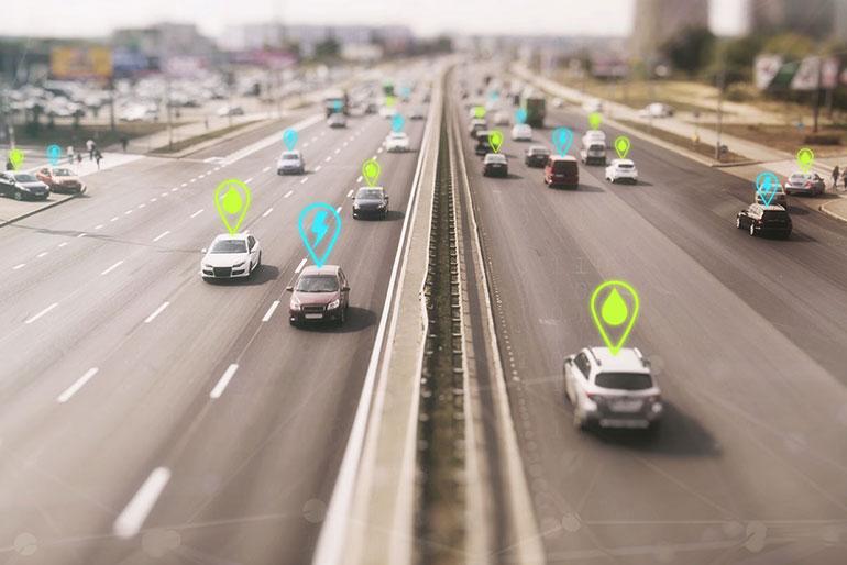 Verkehr der Zukunft: Autobahn Future Fuels und E-Antrieb