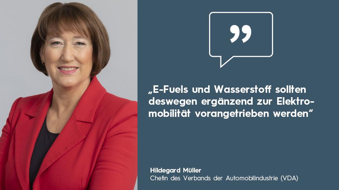 Nationale Wasserstoffstrategie Helga Müller Zitat