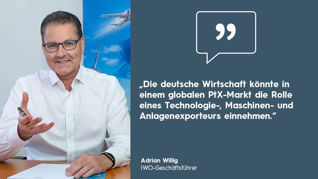 Adrian Willig Portrait Zitat