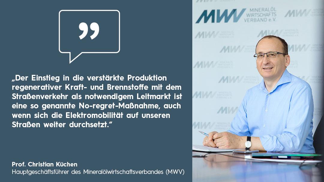 Zitatbox mit Portrait Christian Küchen, MWV