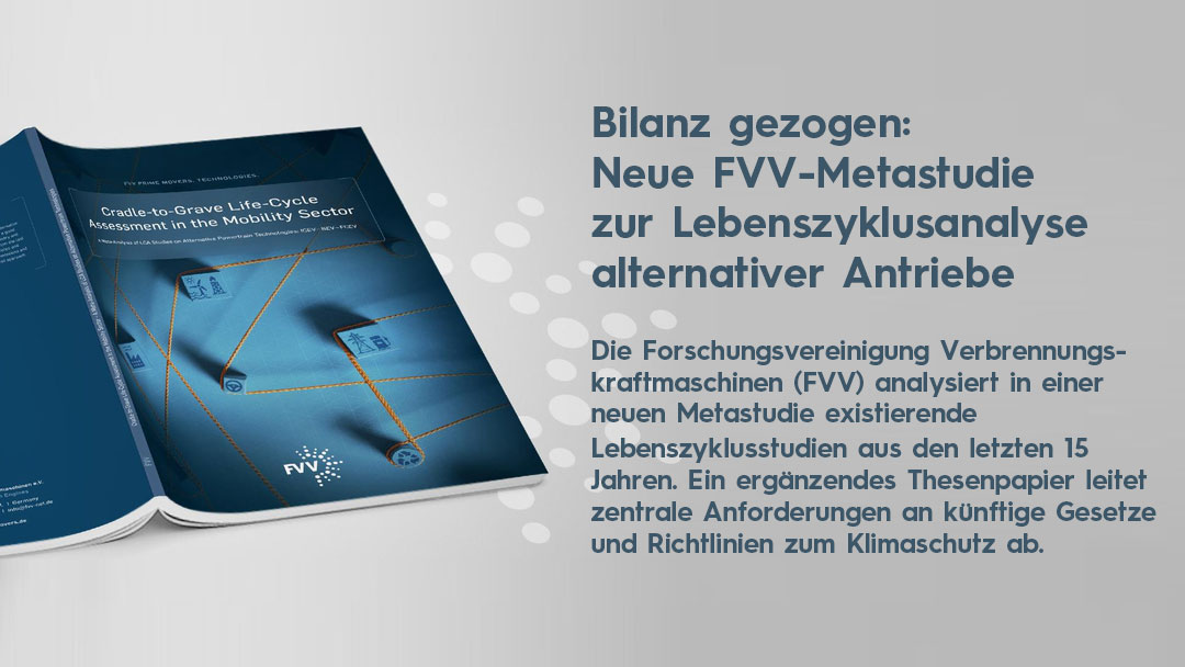 Metastudie FVV Lebenszyklusanalyse