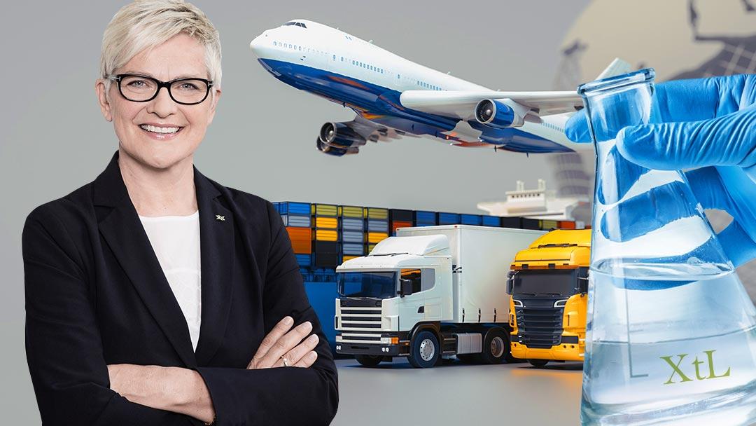 Prof. Barbara Lenz Antriebsmix Schwerlast, Flug, Container