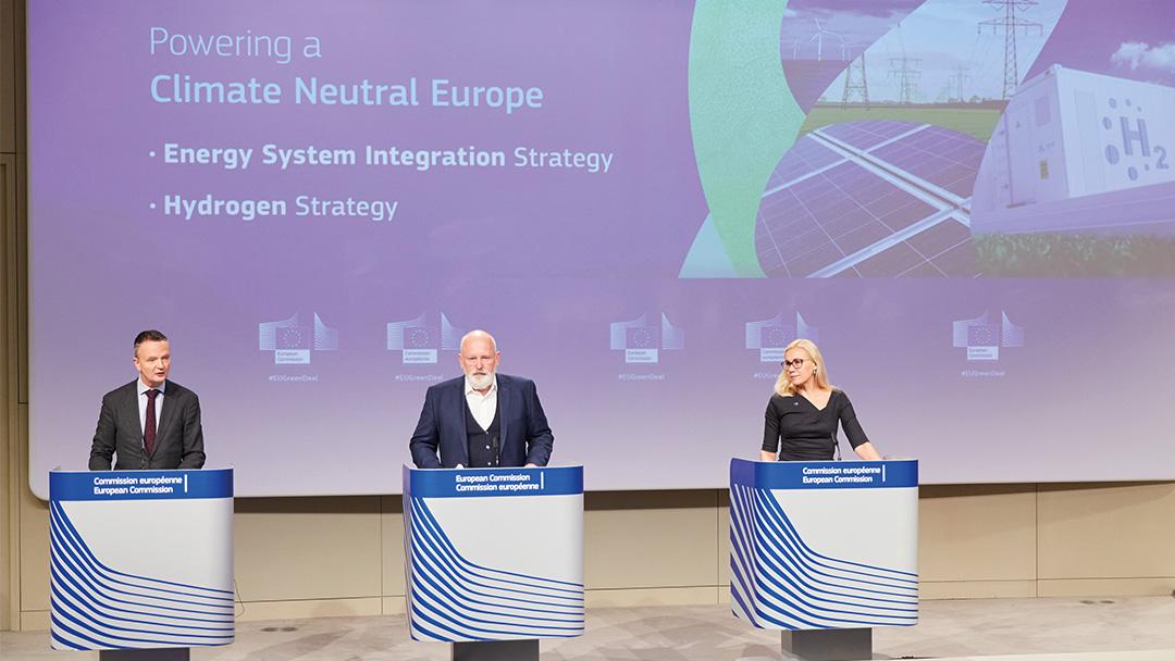 EU_Wasserstoffinfrastruktur Vorstellung EU-Kommission