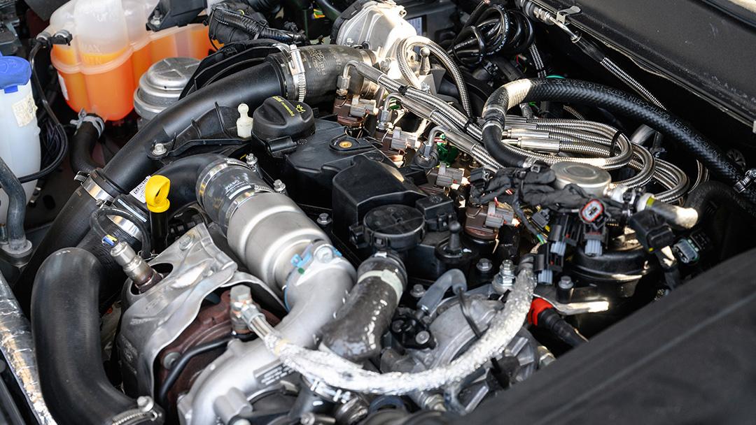 Dimethylether-Einspritzkomponenten Motorblock