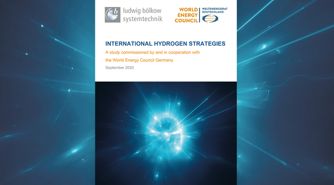 Internationale Wasserstoffstrategien Titelblatt Studie