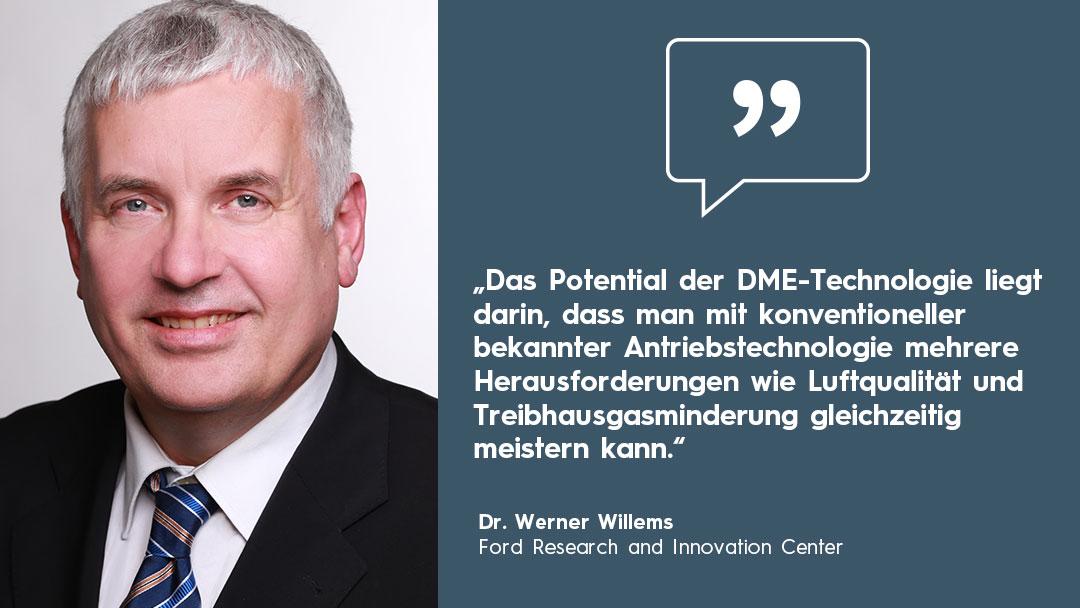 Dimethylether Technologie Werner Willems Ford Zitatkasten