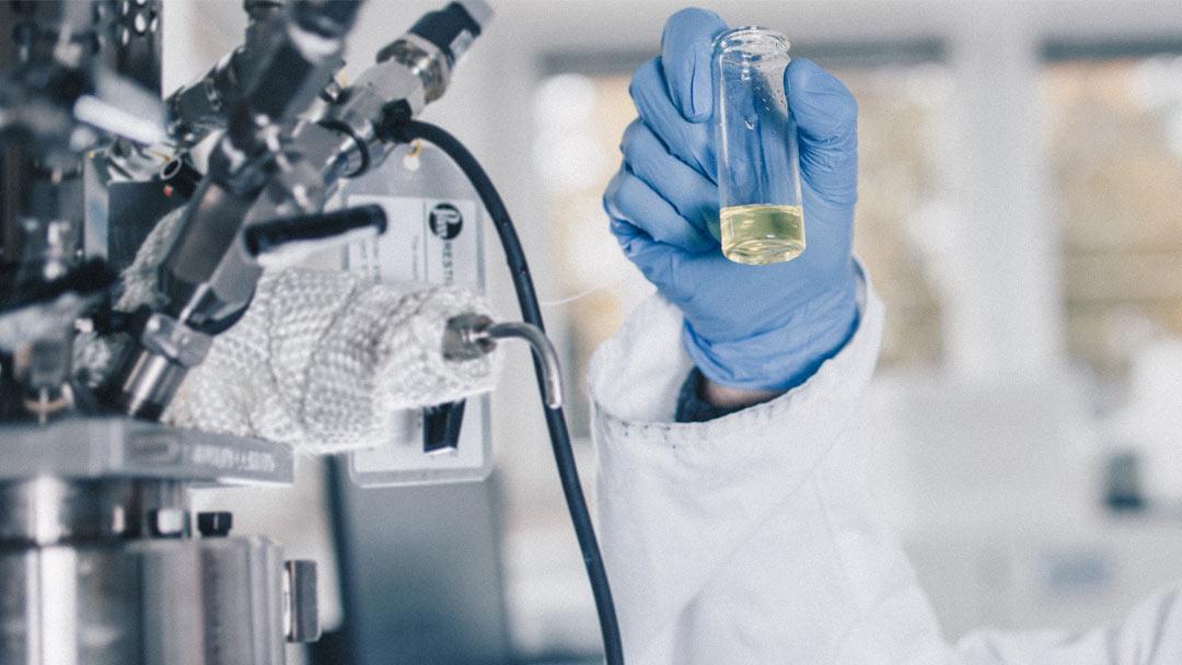 Labor-Analyse von LOHC: Wasserstoff speichern