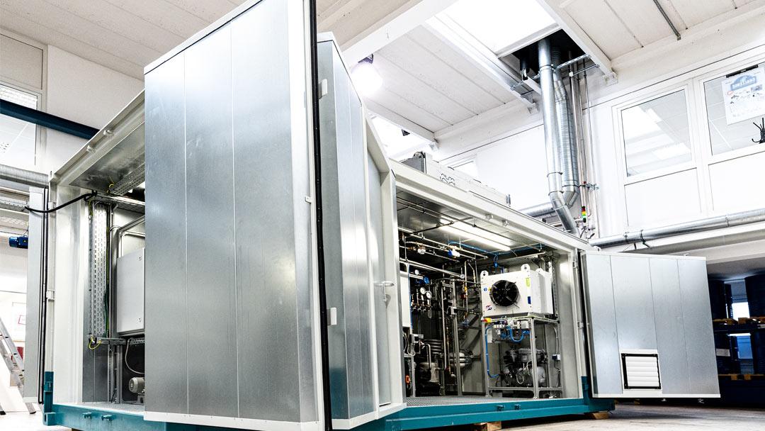 Storage-Box zur Speicherung von Wasserstoff