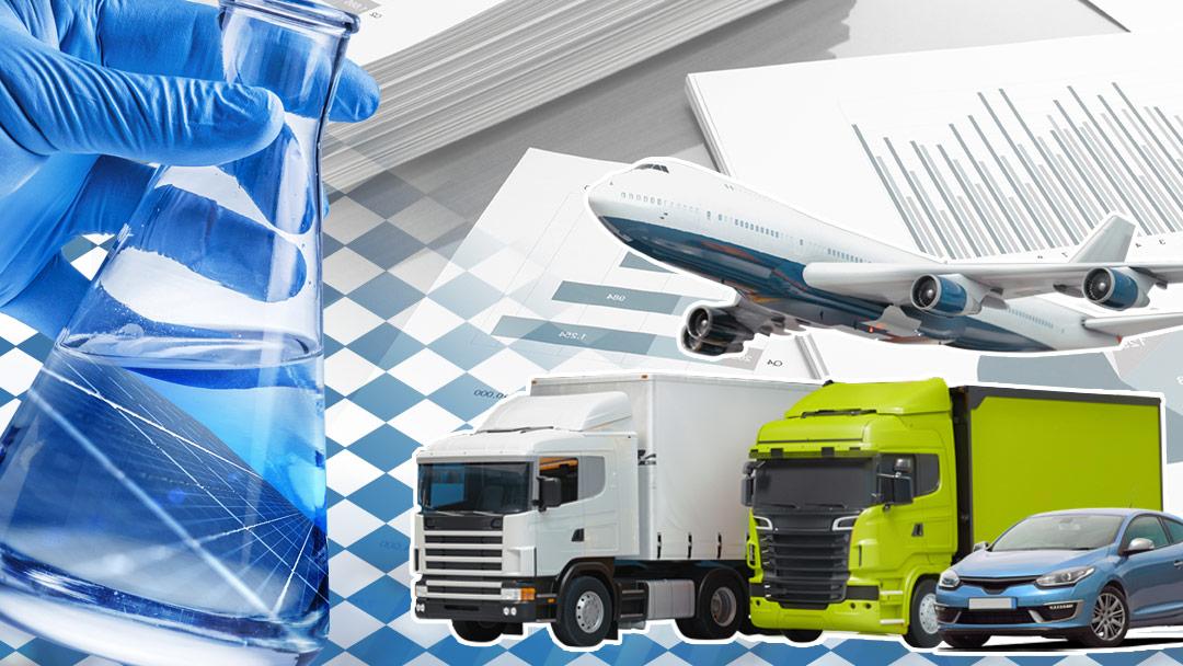 Collage synthetische Fuels - vbw Bayerische Wirtschaft