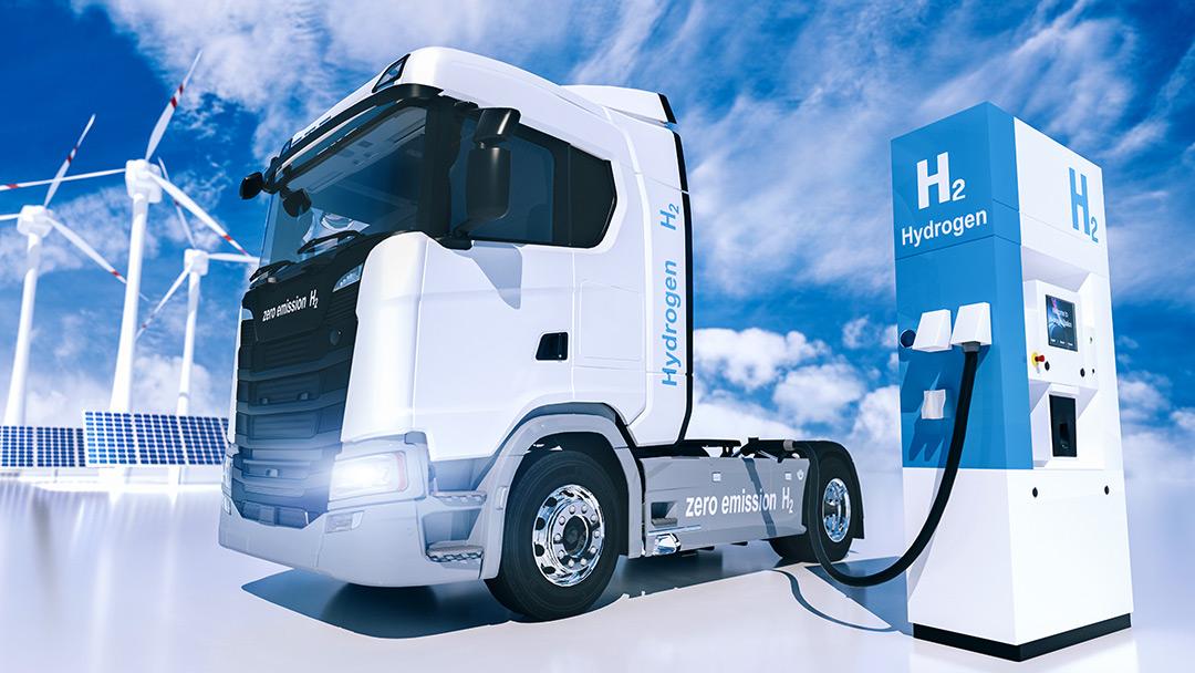 Next Mobility Wasserstoff für Lkw