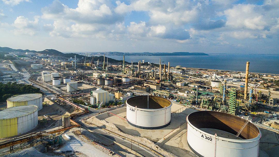 Total Raffinerie Himmel