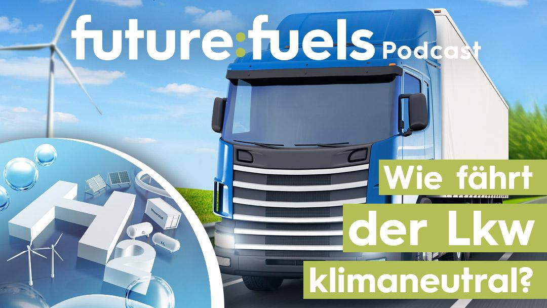 Wie fährt der Lkw klimaneutral?