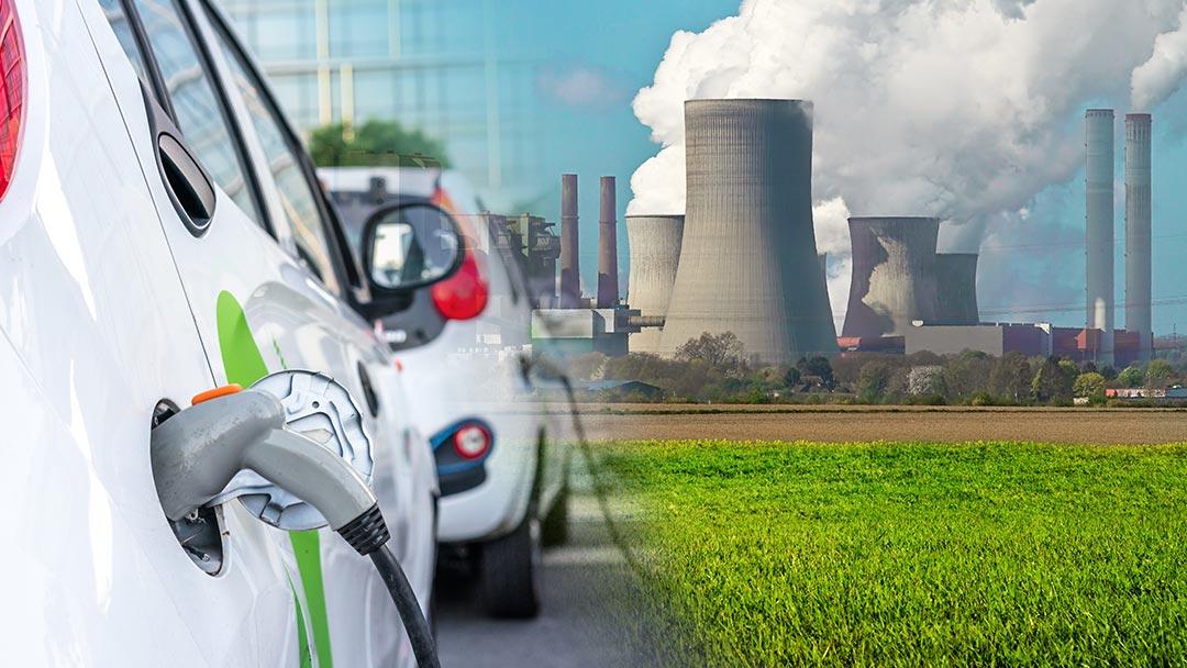 Versorgungslücke Öko-StromE-Autos und Kraftwerke
