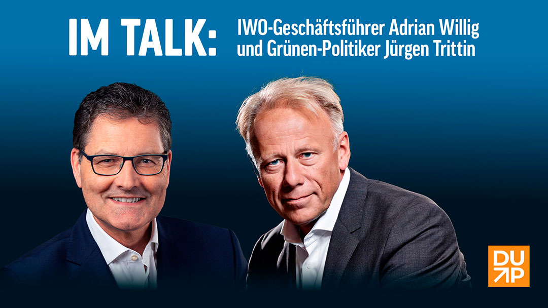 Verkehrswende: Interview Adrian Willig und Jürgen Trittin