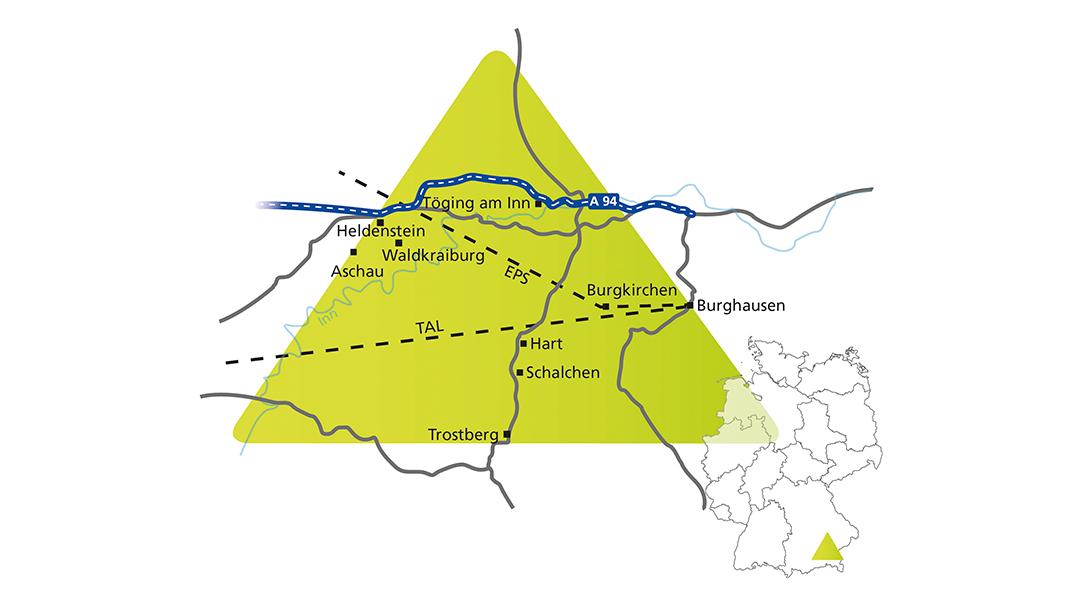 Wasserstoff in der Chemieindustrie - Bayerisches Chemiedreieck