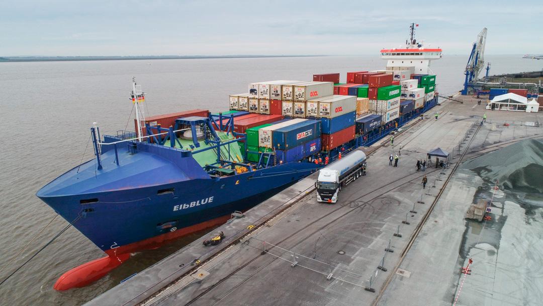 Synthetisches Erdgas für eine maritime Energiewende